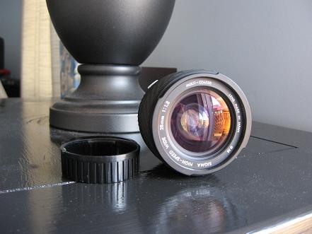 Sigma 28mm f/1.80